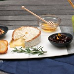Grilled Camembert Cheese Plate