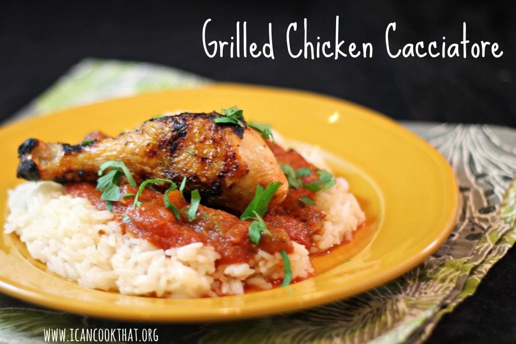 Grilled Chicken Cacciatore