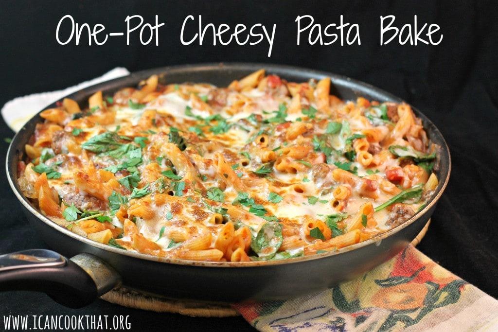 One-Pot Cheesy Pasta Bake