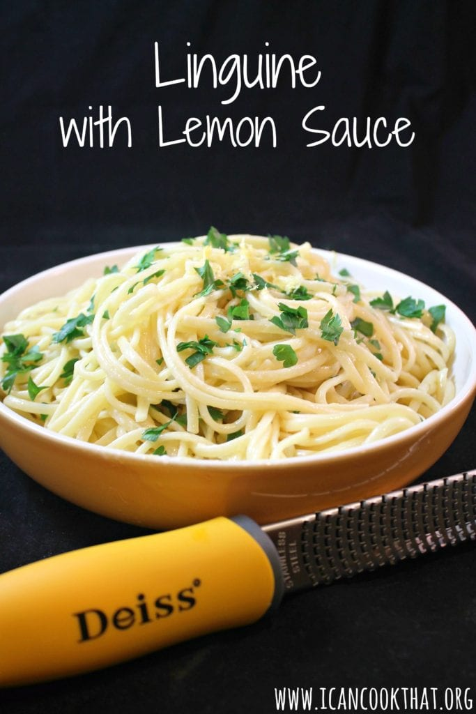 Linguine with Lemon Sauce