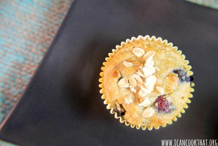 Blueberry Almond Flour Muffins