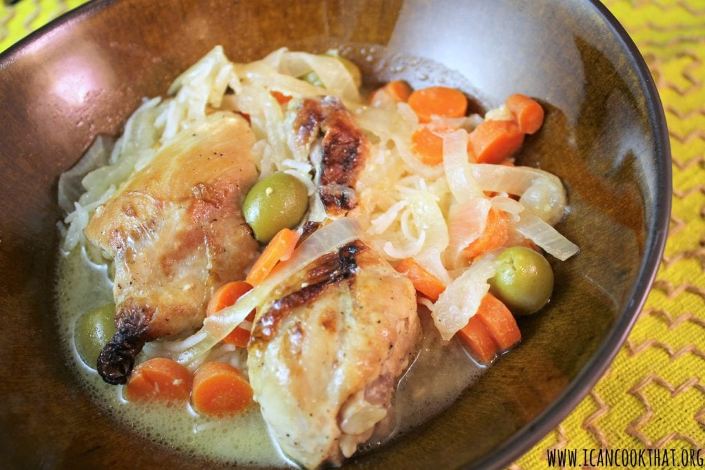Chicken Yassa (Senegalese Lemon Chicken)
