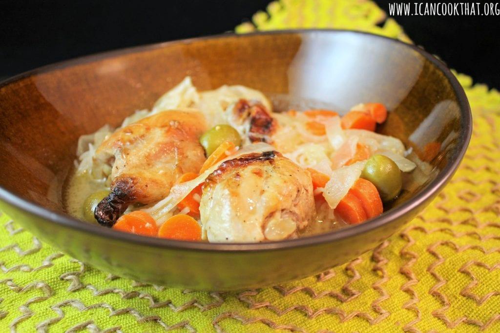 Chicken Yassa (Senegalese Lemon Chicken)