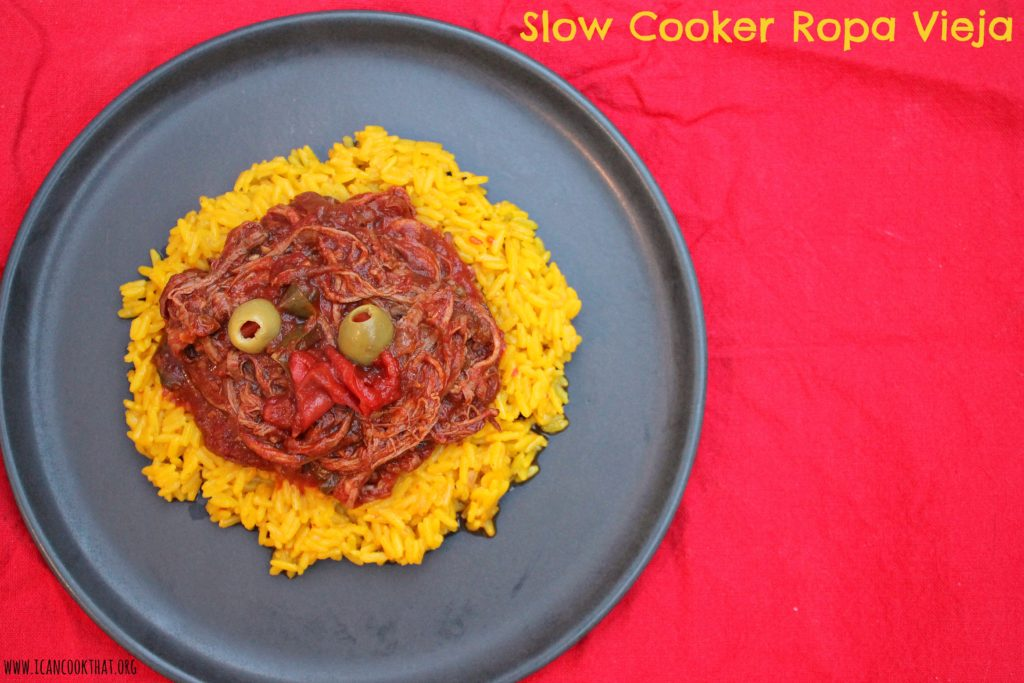 love love love Ropa Vieja. It's a perfect slow cooker meal, which ...