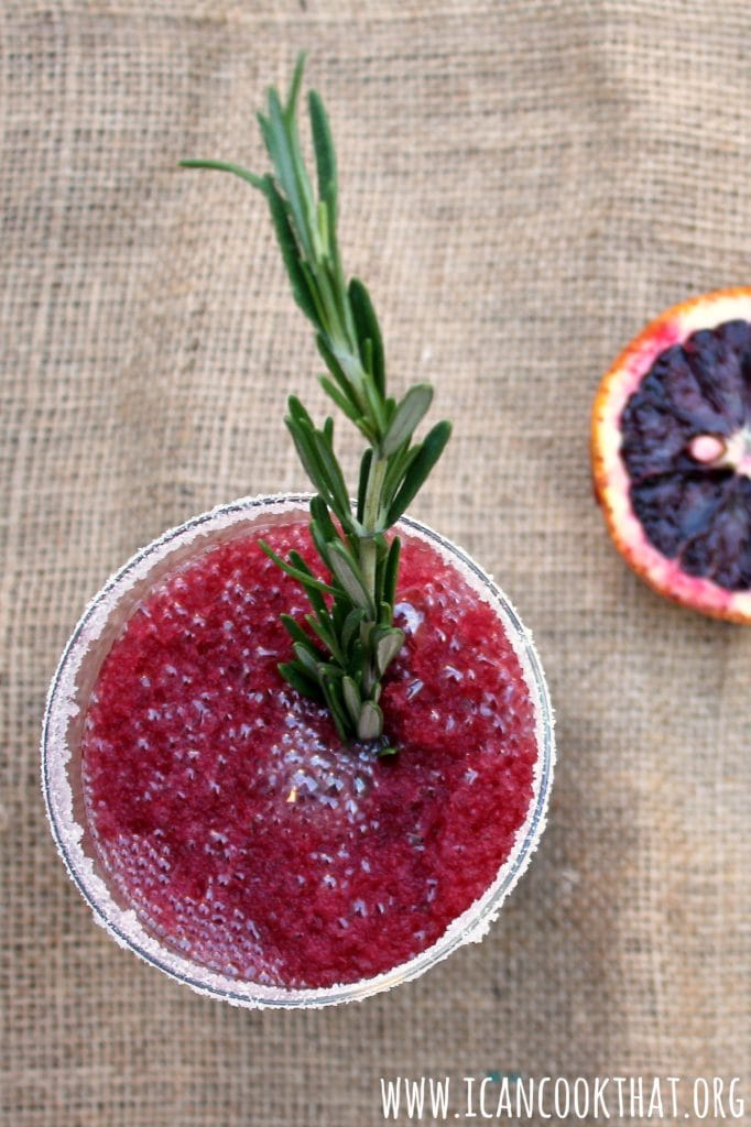 Frozen Blood Orange Margaritas