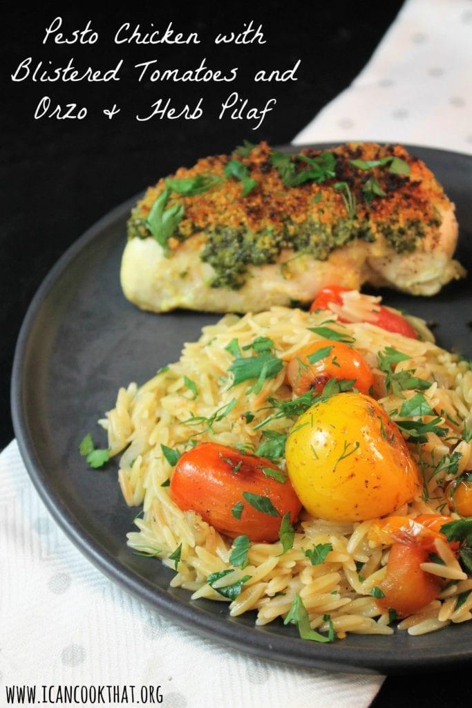 recipe: pesto orzo chicken [32]