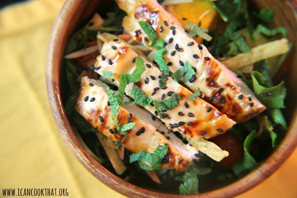 Chicken, Mango and Pineapple Salad