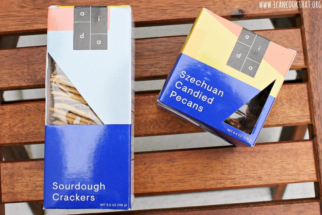 Aida's Szechuan Candied Pecans and Sourdough Crackers