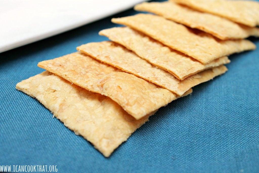Aida's Sourdough Crackers