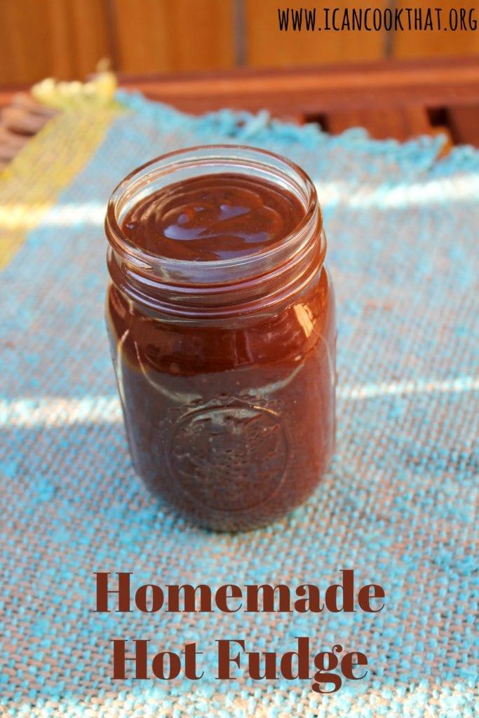 Homemade Hot Fudge Sauce