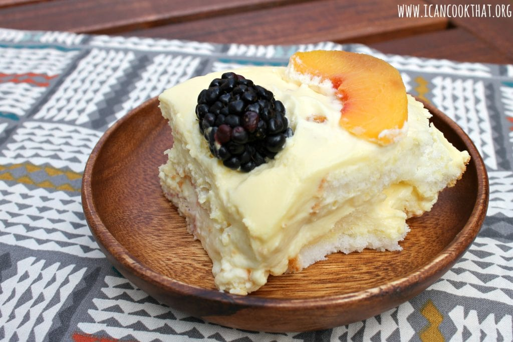 Blackberry Peaches and Cream
