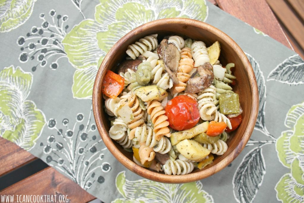 Grilled Vegetable Pasta Salad