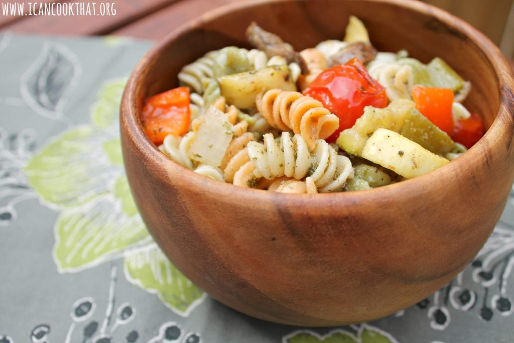 Grilled vegetable italian pasta salad recipe i can cook that - Make perfect grilled vegetables ...