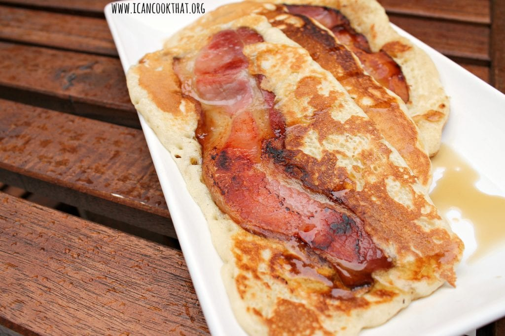 Bacon Pancake Strips
