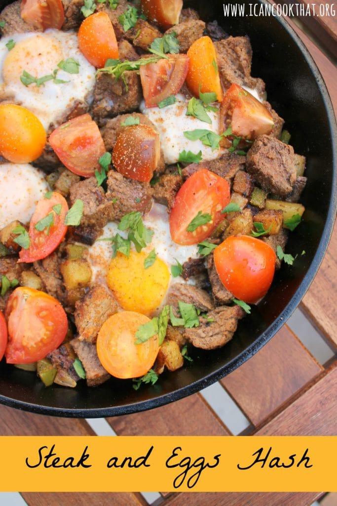 Steak and Eggs Hash
