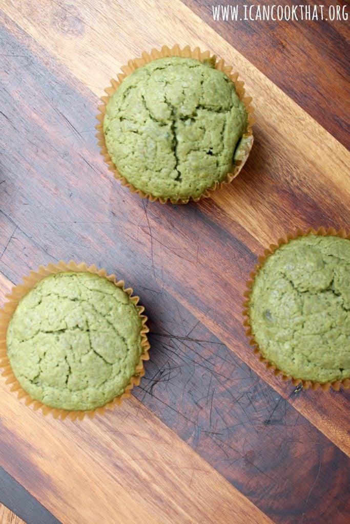 Coconut Matcha Muffins
