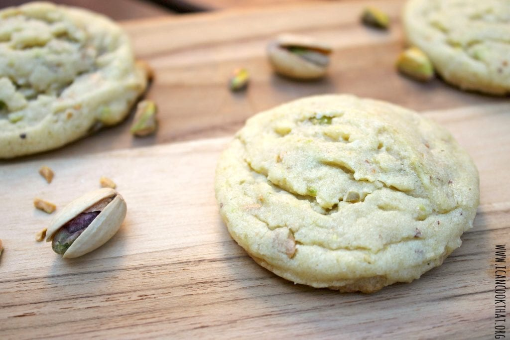 Pistachio Sugar Cookies