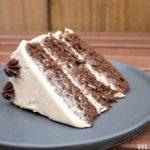 Chocolate Pumpkin Cake with Cinnamon Cream Cheese Frosting