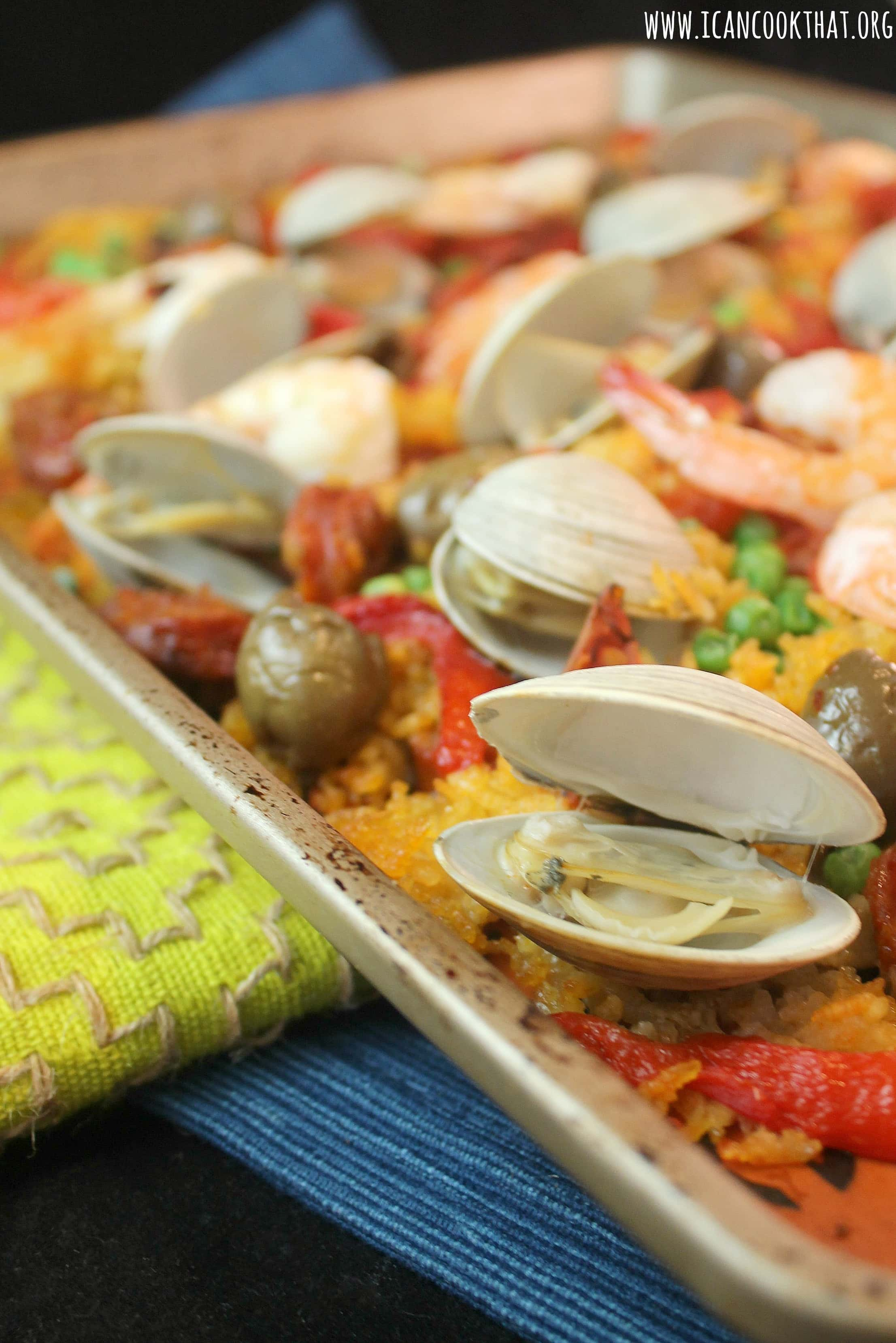 Sheet Pan Paella
