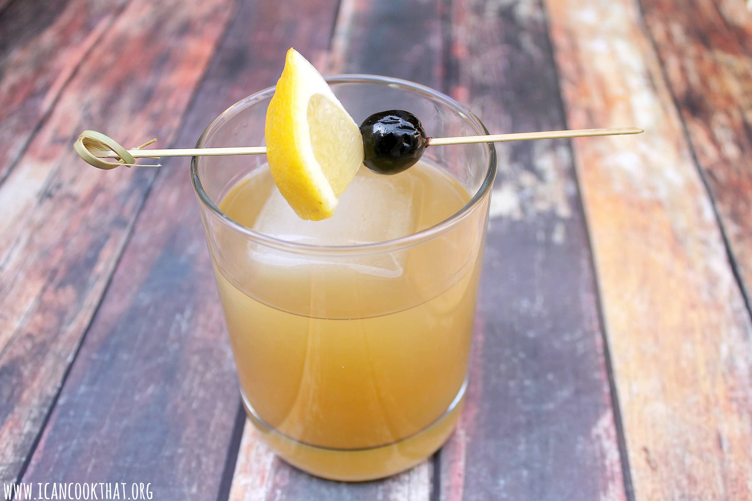 Limoncello Whiskey Sour