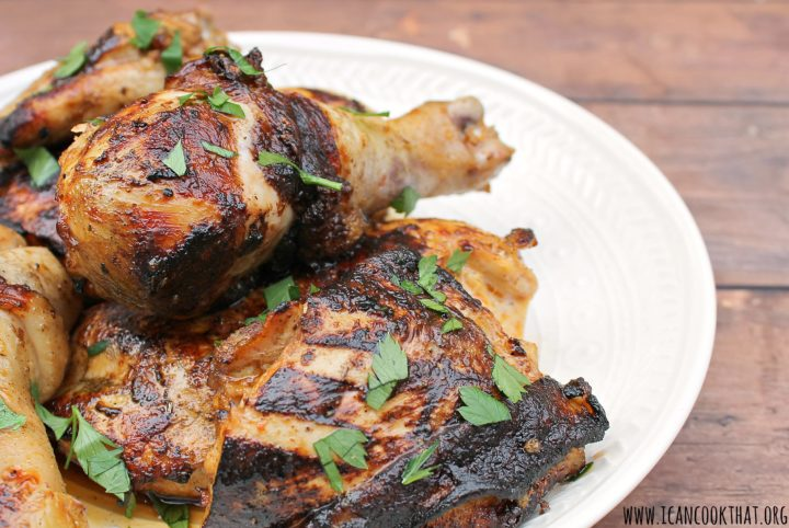 Easy Grilled Marinated Chicken