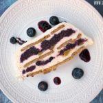 No Bake Blueberry Lemon Icebox Cake