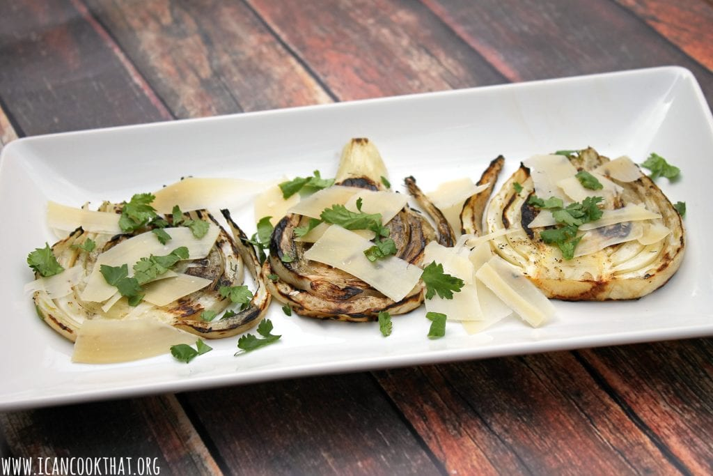Grilled Fennel with Parmesan