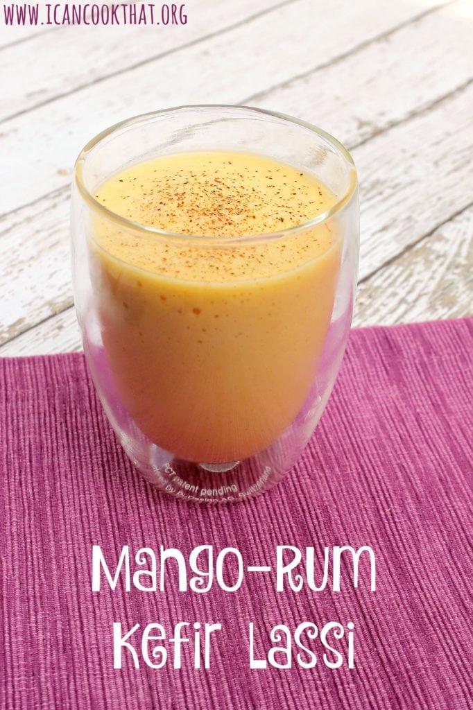 Mango-Rum Kefir Lassi