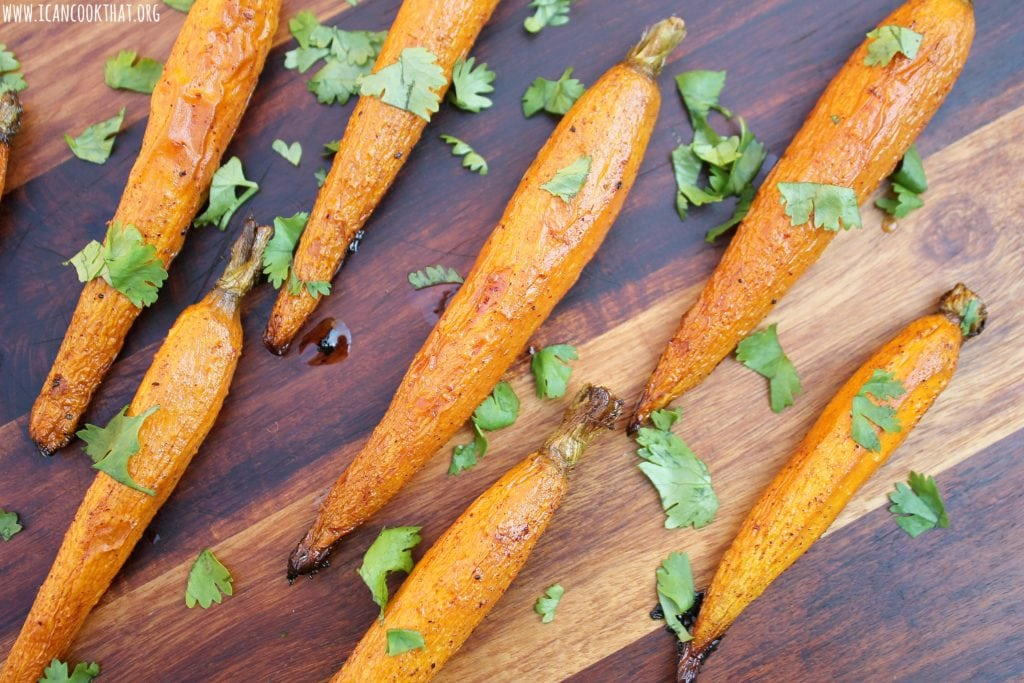 Balsamic Honey Roasted Carrots