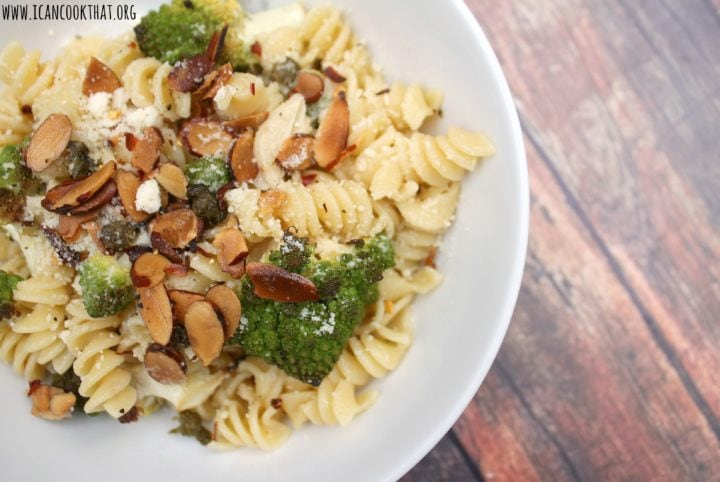 Pasta with Roasted Romanesco and Capers