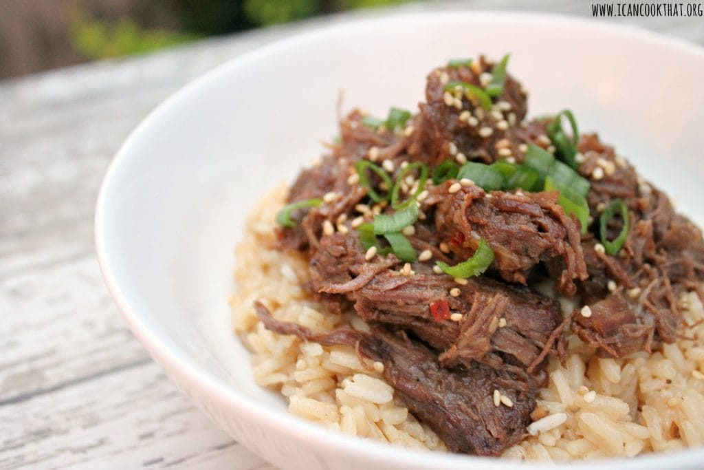 Pressure Cooker Korean Beef