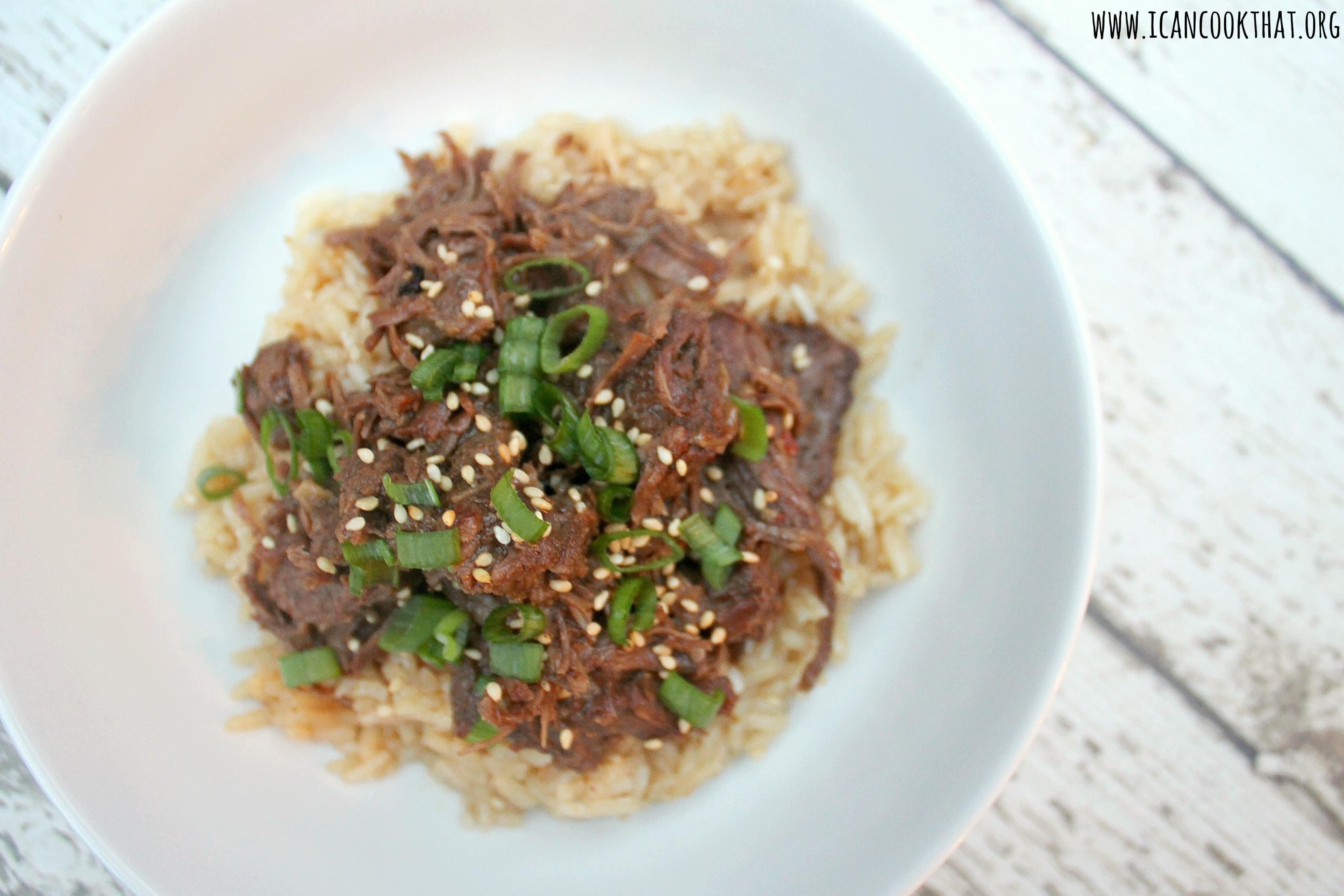 Pressure Cooker Korean Beef