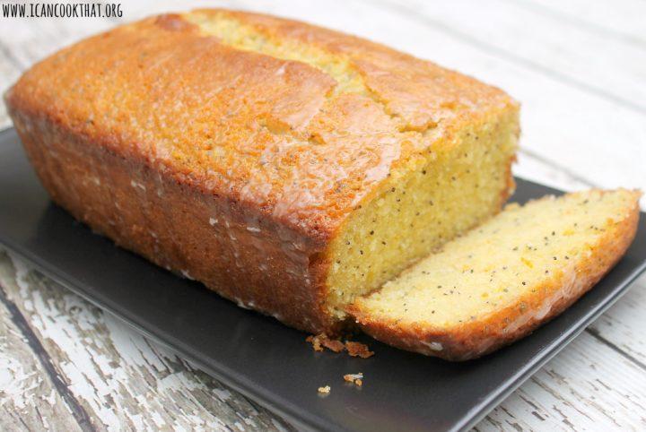 Citrus Poppy Seed Pound Cake