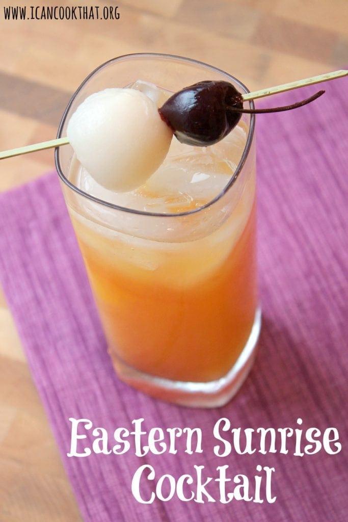 Eastern Sunrise Cocktail