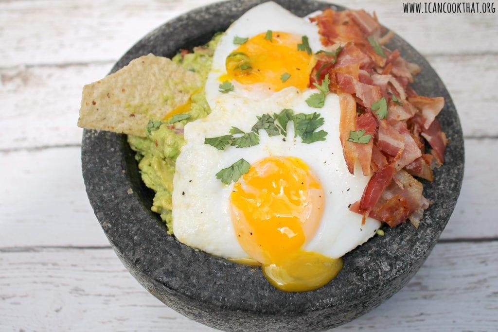 Breakfast Guacamole