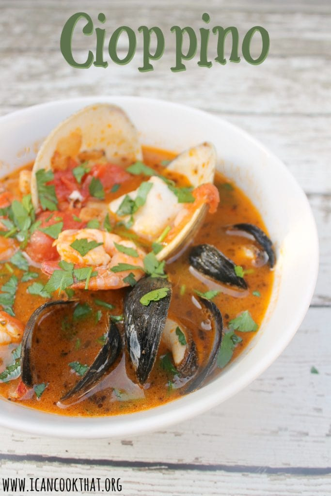 Cioppino Seafood Stew Recipe I Can Cook That
