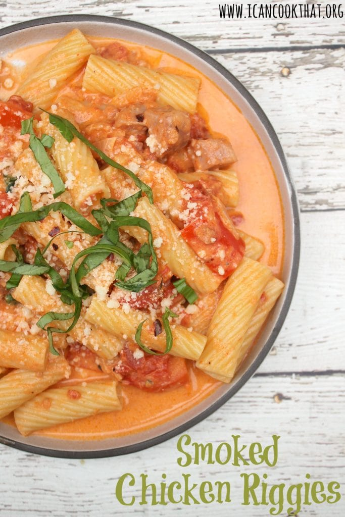 Smoked Chicken Riggies Recipe I Can Cook That
