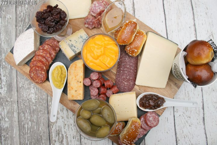 Philadelphia-Themed Charcuterie Board