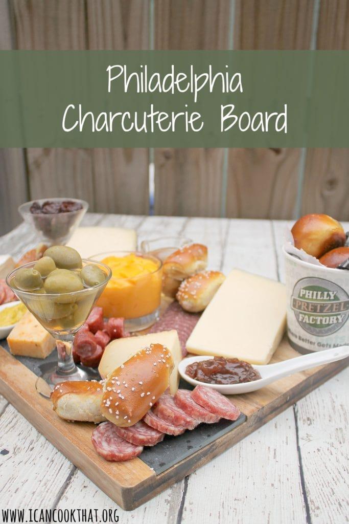 Philadelphia-Themed Charcuterie Board