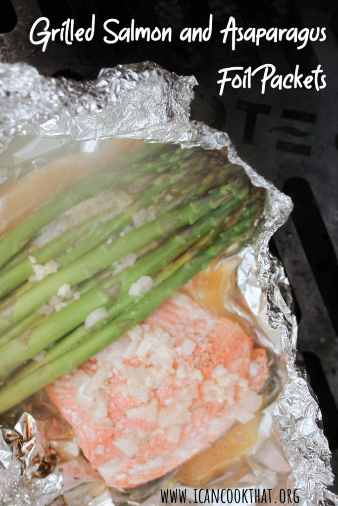 Grilled Salmon and Asparagus Foil Packets