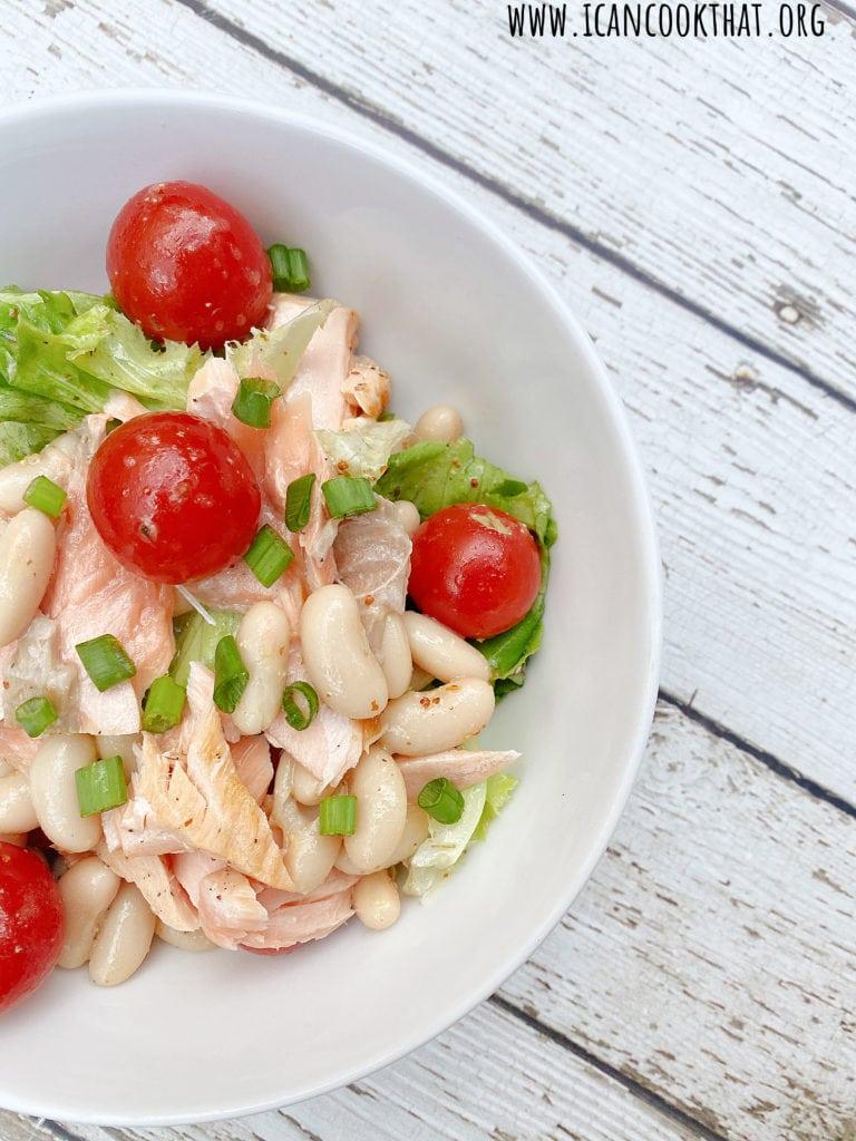 Salmon Bean Salad